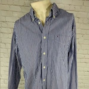 Tommy Hilfiger Men's Long Sleeve Shirt Size Large